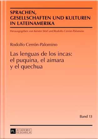 Portada del libro de Rodolfo Cerrón Palomino